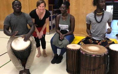 Afrikata bei FitGym und Fit+Fun