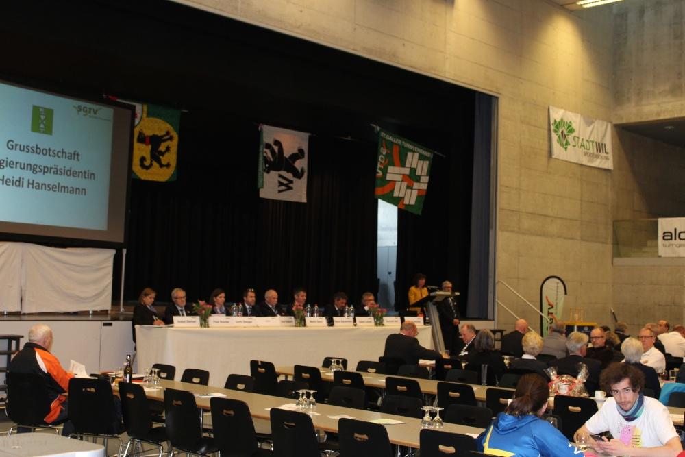 Abgeordnetenversammlung SGTV
