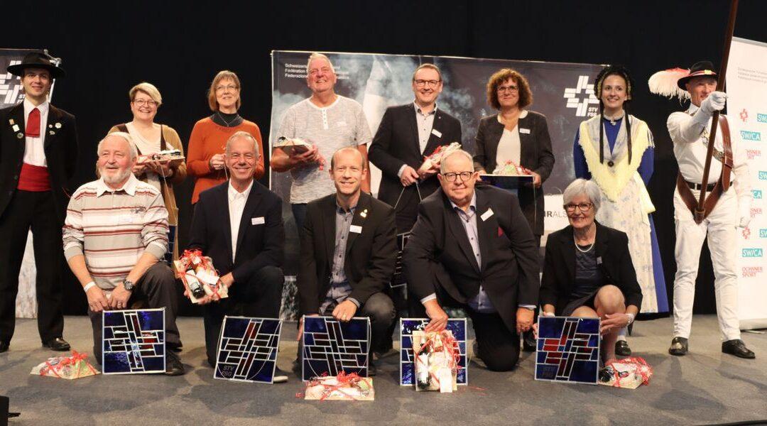 Migg Rohner Ehrenmitglied Schweizerischer Turnverband